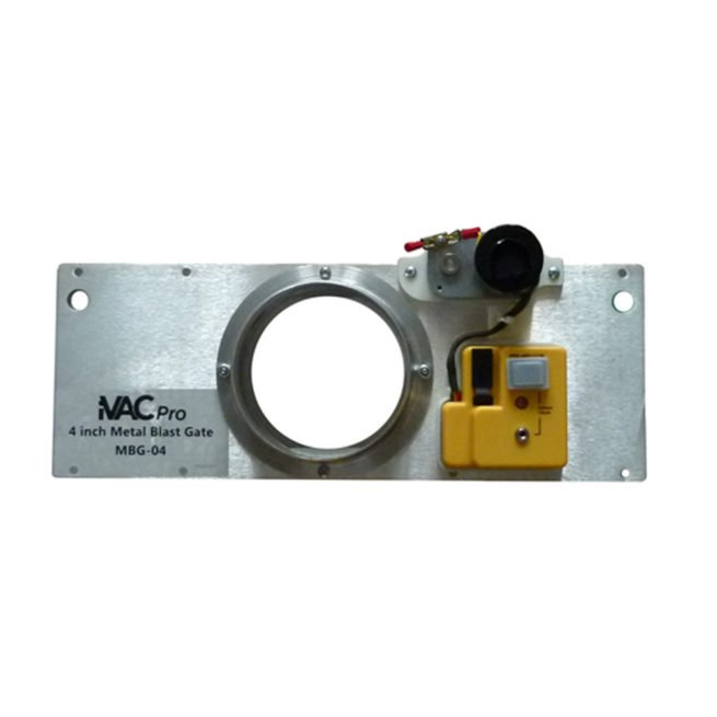 "iVAC Pro 4"" Metal Blast Gate 