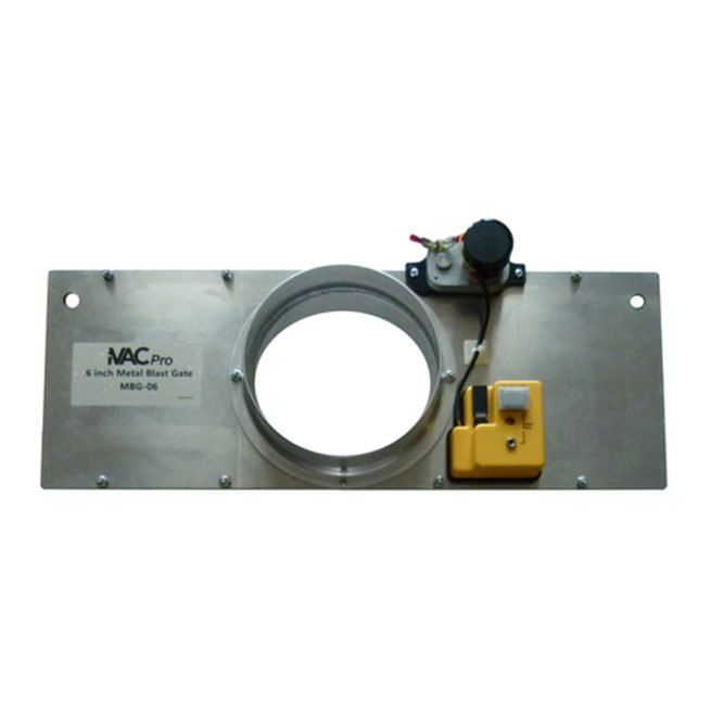 "iVAC Pro 6"" Metal Blast Gate 