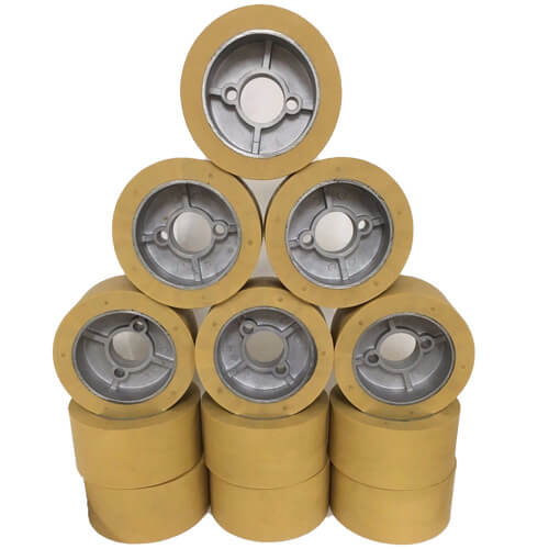 Rubber Power Feeder Roller Wheels (RO-12) Set of 12 | PMC Machines & Tools