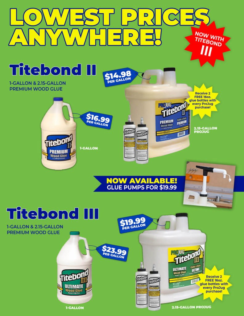 Titebond Ad | PMC Machines & Tools