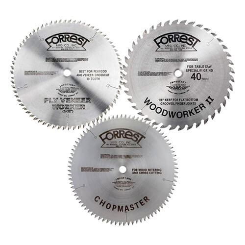 Forrest Saw Blades | PMC Machines & Tools | Woodworking | Hammond, LA