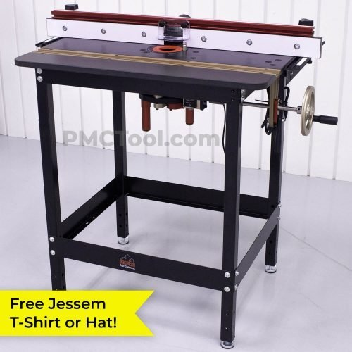 Jessem Mast-R-Lift II Excel Router Table Package | PMC Woodworking Machinery & Tools | Hammond, LA