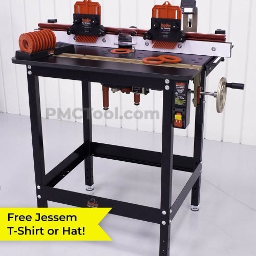 Jessem Mast-R-Lift II Excel Plus DRO Router Table Package | PMC Woodworking Machinery & Tools | Hammond, LA