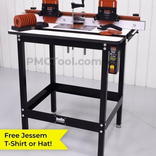 Jessem Rout-R-Lift II Plus Router Table Package | PMC Woodworking Machinery & Tools | Hammond, LA