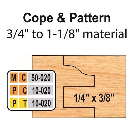 Freeborn MC-50-020 6pc Cabinet Door Set | PMC Woodworking Machinery & Tools | Hammond, LA