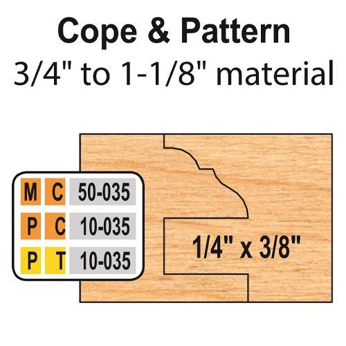 Freeborn MC-50-035 6pc Cabinet Door Set | PMC Woodworking Machinery & Tools | Hammond, LA