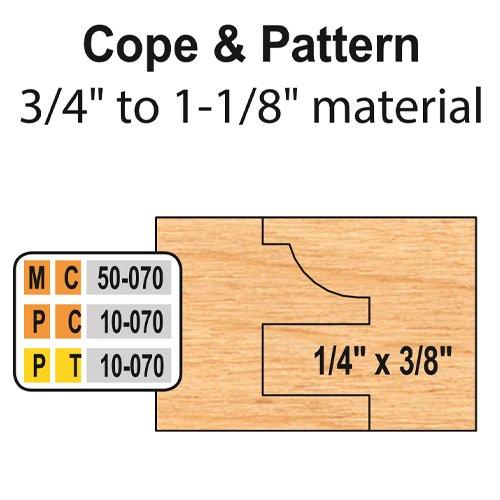 Freeborn MC-50-070 6pc Cabinet Door Set | PMC Woodworking Machinery & Tools | Hammond, LA
