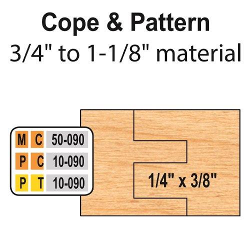 Freeborn MC-50-090 6pc Cabinet Door Set | PMC Woodworking Machinery & Tools | Hammond, LA