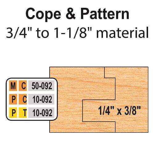 Freeborn MC-50-092 6pc Cabinet Door Set | PMC Woodworking Machinery & Tools | Hammond, LA