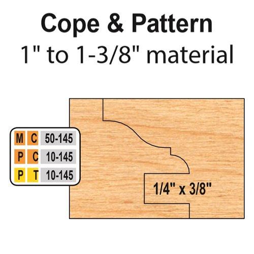 Freeborn MC-50-145 6pc Cabinet Door Set | PMC Woodworking Machinery & Tools | Hammond, LA