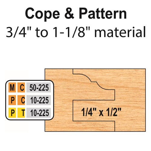 Freeborn MC-50-225 6pc Cabinet Door Set | PMC Woodworking Machinery & Tools | Hammond, LA
