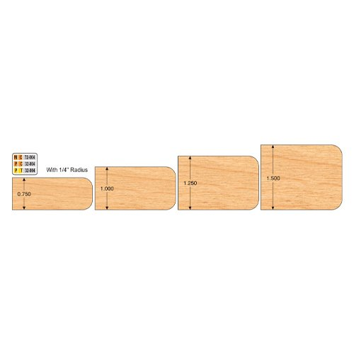Freeborn MC-72-004 4pc Expandable Double Easing Set | PMC Woodworking Machinery & Tools | Hammond, LA