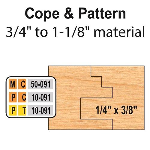 Freeborn PC-10-091 6pc Cabinet Door Set | PMC Woodworking Machinery & Tools | Hammond, LA