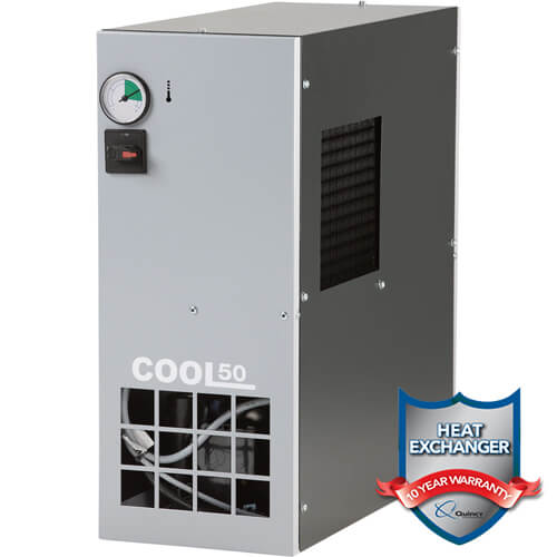 Quincy COOL50 50CFM Refrigerated Air Dryer w Badge | PMC Woodworking Machinery & Tools | Hammond, LA