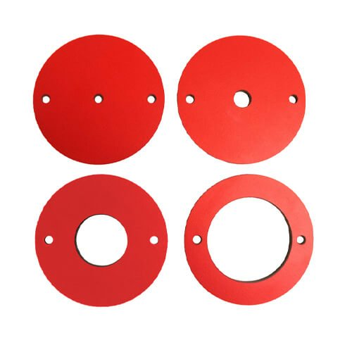SawStop 4 Piece Phenolic Insert Ring Set for Router Lift | PMC Woodworking Machinery & Tools | Hammond, LA