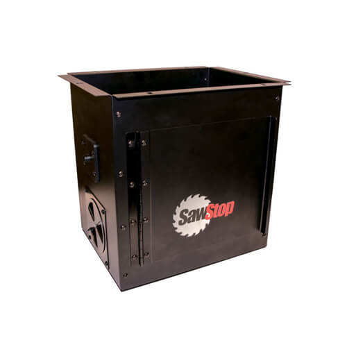 SawStop Downdraft Dust Collection Box for Router Tables | PMC Woodworking Machinery & Tools | Hammond, LA